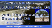 Ormus Minerals PURE Magnesium Oil with Frankincense Esential Oil