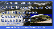 Ormus Minerals PURE Magnesium Oil with Himalayan Cedar Wood