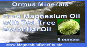 Ormus Minerals Magnesium Oil with Tea Tree EO